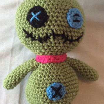 Crocheted Scrump from Disney's Lilo and Stitch