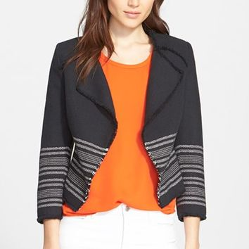 Women's Joie 'Carver' Tweed Jacket,