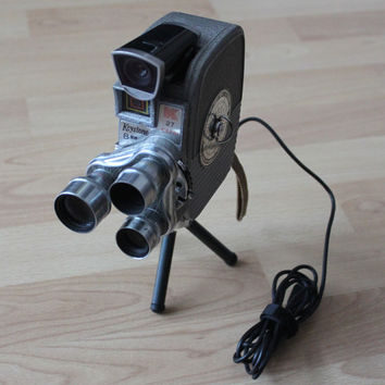 HD Webcam - Upcycled Vintage Keystone 8mm Movie Camera