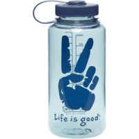 Peace Sign Water Bottle|Life is good