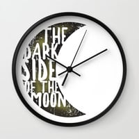 Floyd Pink - the dark side of the moon Wall Clock by g-man