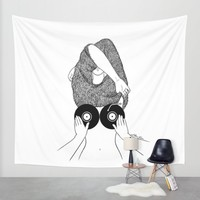 Sound Making Wall Tapestry by Henn Kim | Society6