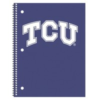 """TCU Horned Frogs """"Back to School"""" 5 Pack Notebook"""