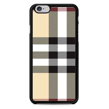 Burberry Pattern iPhone 6/6S Case