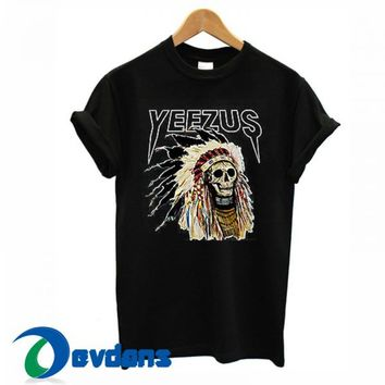Kanye West Yeezus Tour T Shirt For Women and Men Size S to 3XL