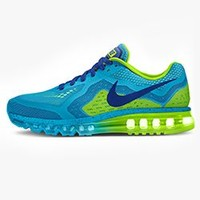 Nike Air Max 2014 iD Custom Men's Running Shoes - Green