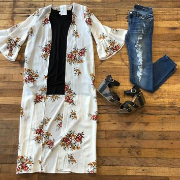 Musgraves Duster in White