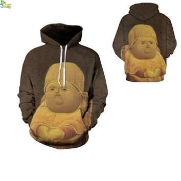 Adorable Fat Baby Jumpers Pullover Brown Autumn Oversized Skateboarding Hoodies Winter Streetwear Tracksuits Mens Coats Jackets