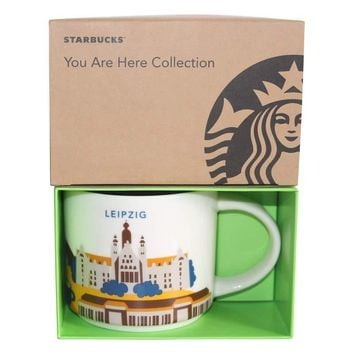 Starbucks You Are Here Collection Germany Leipzig Ceramic Coffee Mug New Box