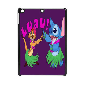 Luau Timon Silhouette And Stitch  Disney iPad Mini 2 Case
