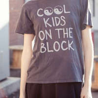 "Brandy Melville ""Cook Kids On The Block"" T-Shirt- Found on Bib + Tuck"