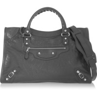Balenciaga - City textured-leather tote
