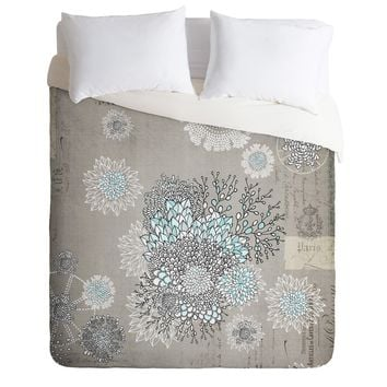 Iveta Abolina French Blue Duvet Cover