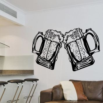 Vinyl Wall Decal Sticker Cheers #1525