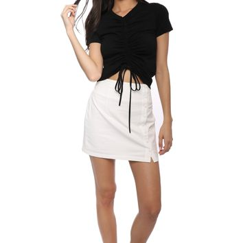 Jac Parker Ruched Tee