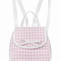 CHLOE SEVIGNY FOR OPENING CEREMONY GINGHAM BACKPACK - WOMEN - CHLOE SEVIGNY FOR OPENING CEREMONY