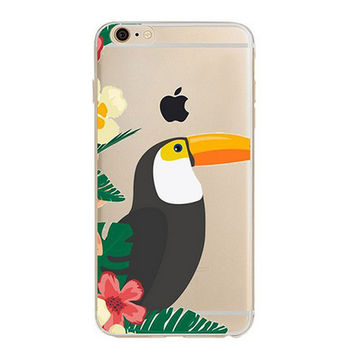 Bird Printed Case for iPhone 6 7 7 Plus