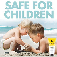 Mineral Sunscreen SPF 25 - With Natural and Organic Ingredients Water Resistant Sun Block - Non-Nano Zinc, Non-Toxic Gentle Enough for Kids, Babies, Sports and Reef Safe - Made in the USA