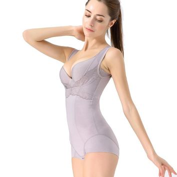 Women's Full Body Shaper Waist Cincher  Bodysuit Shapewear Lightweight Slimming Belt corset slimming corrective underwear