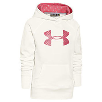 Girls' Under Armour Big Logo Storm Armour Fleece Hoodie