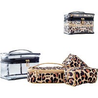 Fiercely Feminine 4PC Train Case