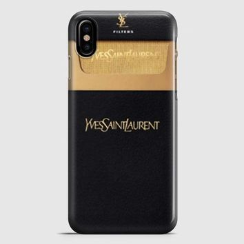 Ysl Yves Saint Laurent Cigarettes iPhone X Case