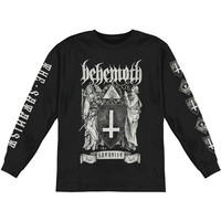 Behemoth Men's  Satanist Eye Tour  Long Sleeve Black Rockabilia