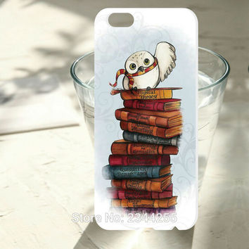 1PCS For iphone 7 6 6s case Harry Potter Bookmark Painted design phone cover hard pc phone case For iphone7 6 plus 5 5s 5c 4s SE