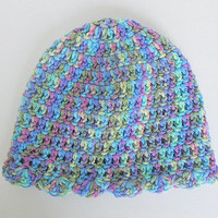 Toddler  Girl  Hat 1 To 2 Years Old Baby Fall Skullcap  Infant Purple Blue Yellow Green Beanie  Winter  Cap