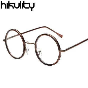 Vintage Eyewear Frames Myopia Glasses Round Clear Lens Women Spectacle Frame Men Eyeglasses Optical Glasses Frame Retro Lunette
