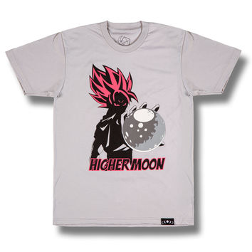 Super Saiyan Tee in Light Gray