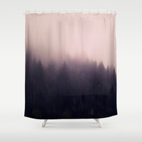 Warm winter Shower Curtain by Printapix