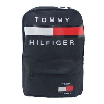 LMFHQ9 Tommy Hilfiger Casual Sport Laptop Bag Shoulder School Bag Backpack