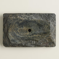 Rectangular Slate Soap Dish - World Market