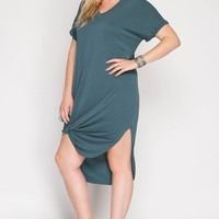 Simple and Chic T-Shirt Dress