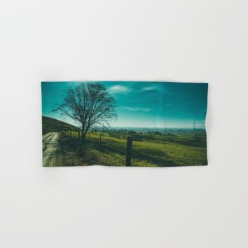 The Walk Home Hand & Bath Towel by Mixed Imagery