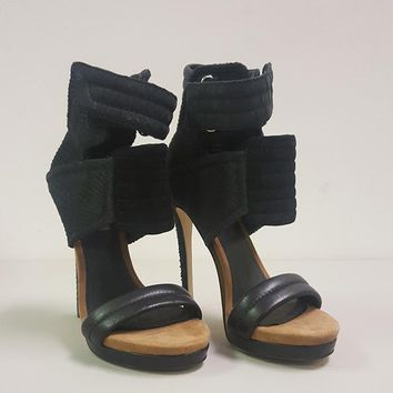 MIA LIMITED EDITION ROCCO SANDAL - BLACK (SAMPLE)
