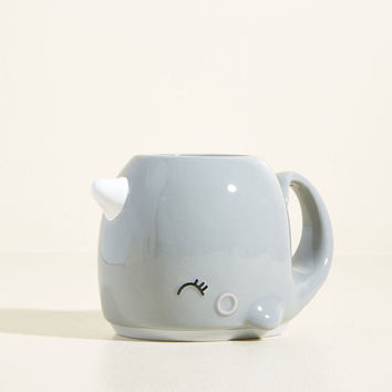 I Sea You Smiling Nari Narwhal Mug