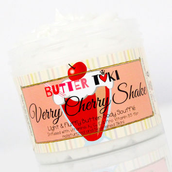 VERRY CHERRY SHAKE Body Butter Soufflé 4oz