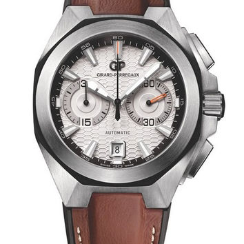 Girard-Perregaux Chrono Hawk Steel Men's Watch 49970-11-131-HDBA