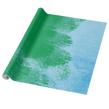 Paint Brush Wrapping Paper