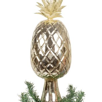 Golden Pineapple Tree Topper