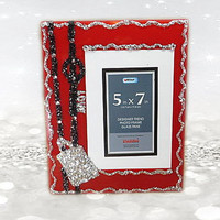 Red Frame - Love Frames -  5X7 Frames - Gifts For Mom - Engagement Gift - Girlfriends Gift - Engagement Gifts - Parents Gifts - Girls Gifts