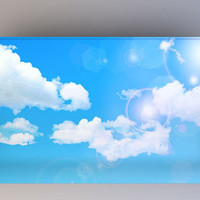 Clouds - Photography Backdrop