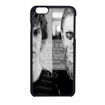 American Horror Story Evan Half Face iPhone 6 Case