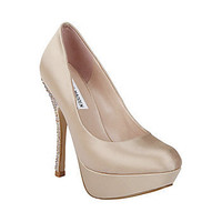 Steve Madden - PARTYY-R CHAMPAGNE SATIN