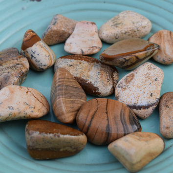 PICTURE JASPER Vision Stone - See The Big Picture - Think Create & Visualize Your Dreams Clearly