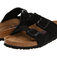 Birkenstock Arizona Soft Footbed - Suede (Unisex) Dijon Suede - Zappos.com Free Shipping BOTH Ways