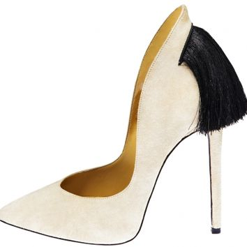 Aleksander Siradekian - Creme Izo Pumps - Shoes