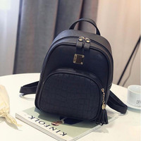 Fashion School Girls Bags Women Backpack Female Back Pack Famous Brand